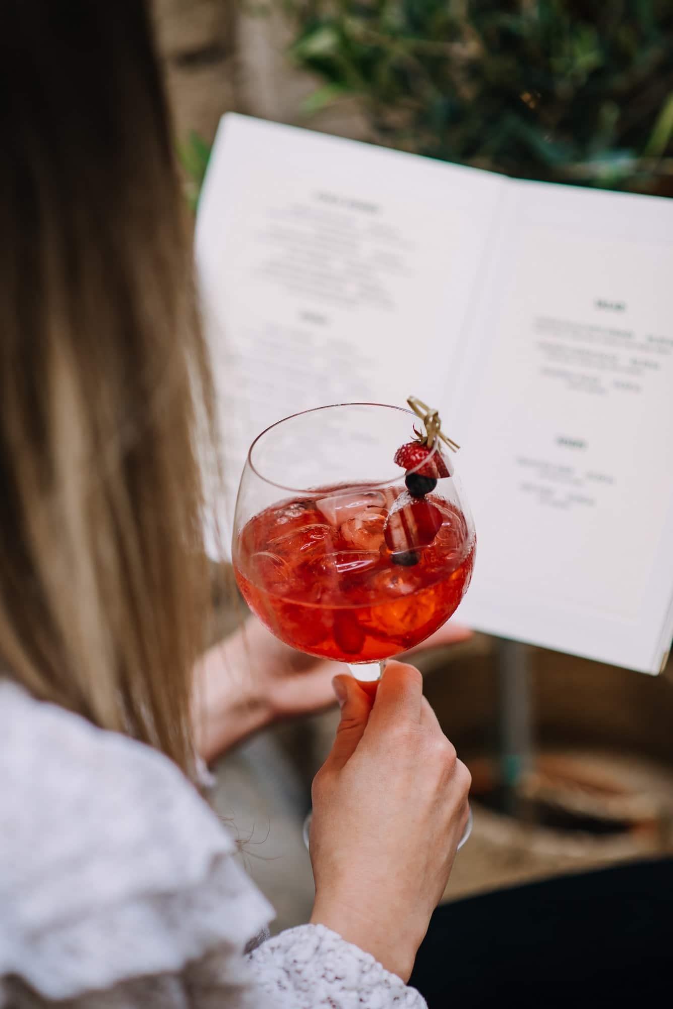 red cocktail at lucin kantun