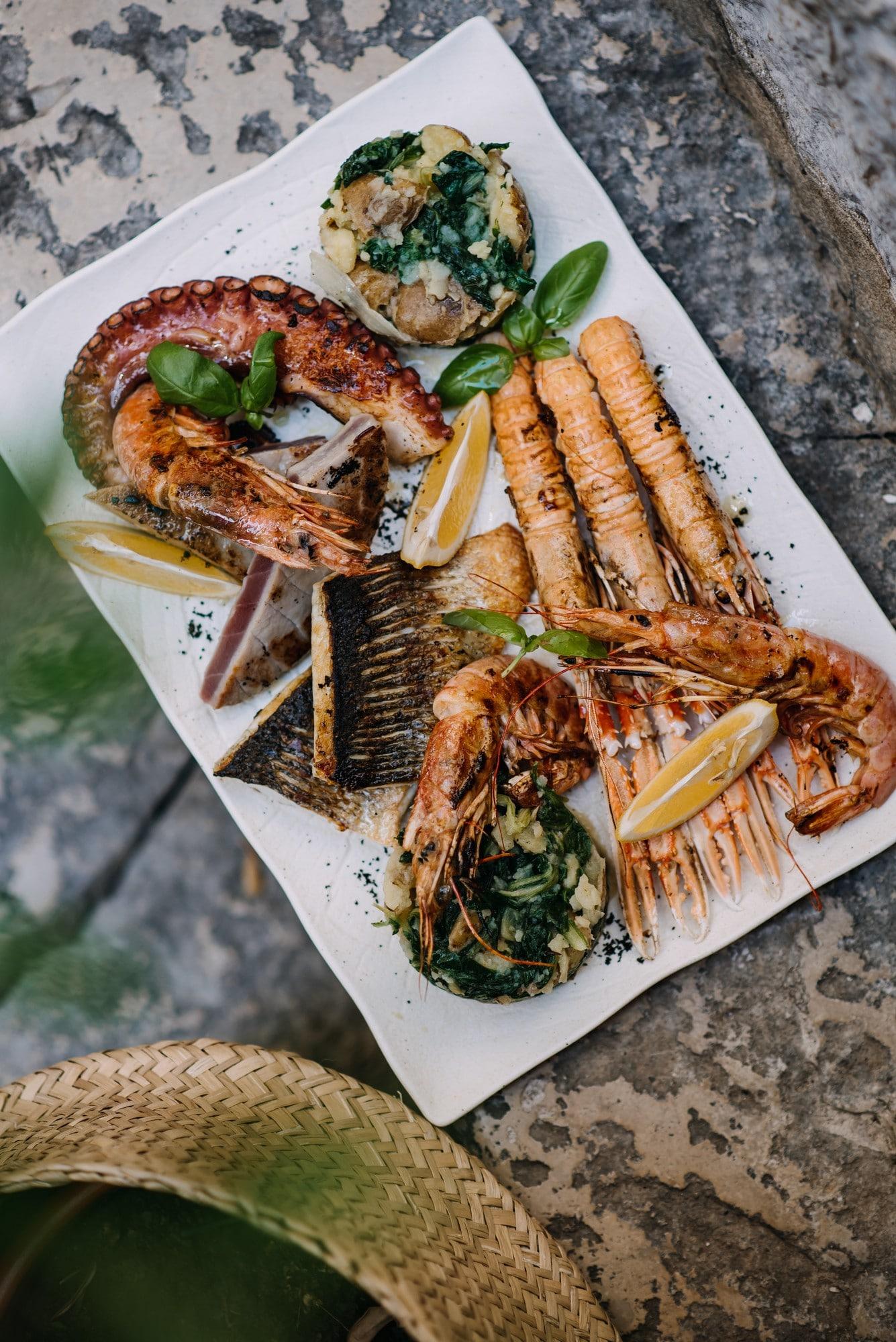 seafood lucin kantun
